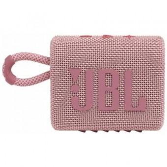 Зображення Акустична система JBL Go 3 Pink (GO3PINK)