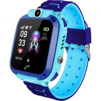 Изображение Smart часы GoGPS ME K16S Blue Детские GPS часы-телефон (K16SBL)