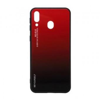 Зображення Чохол для телефона BeCover Gradient Glass Galaxy M20 SM-M205 Red-Black (703568)
