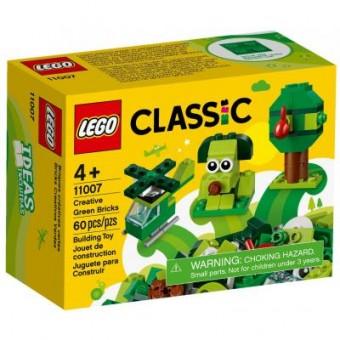 Зображення Конструктор Lego  Classic Зелёный набор для конструирования 60 деталей (11007)