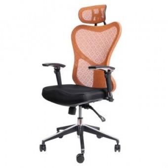 Зображення Офісне крісло Barsky Butterfly Black/Orange (Fly-01)