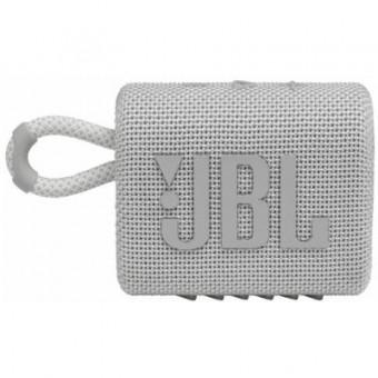 Зображення Акустична система JBL Go 3 White (GO3WHT)