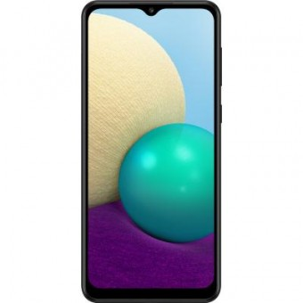 Зображення Смартфон Samsung Galaxy A02 2/32GB Black (SM-A022GZKBSEK)