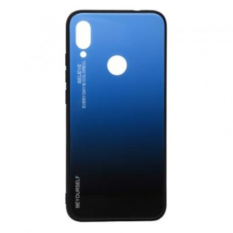 Зображення Чохол для телефона BeCover Gradient Glass Xiaomi Redmi 7 Blue-Black (703591)