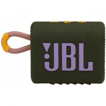 Зображення Акустична система JBL Go 3 Green (GO3GRN)