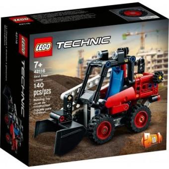 Зображення Конструктор Lego Конструктор  Technic Мини-погрузчик 140 деталей (42116)