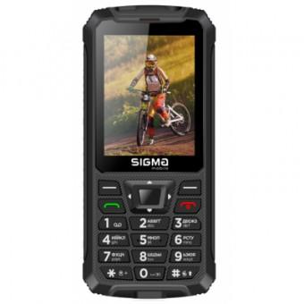 Зображення Смартфон Sigma X-treme PR68 Black (4827798122112)