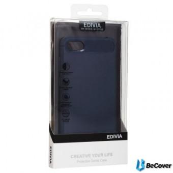 Изображение Чехол для телефона BeCover Carbon Series для Huawei P Smart 2019 Deep Blue (703186)