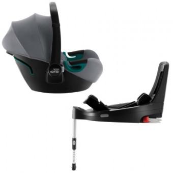 Зображення Автокрісло Britax-Romer Baby-Safe3 i-size Frost Grey с платформой (2000035082)
