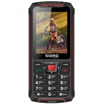 Зображення Смартфон Sigma X-treme PR68 Black Red (4827798122129)