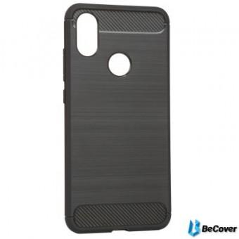 Изображение Чехол для телефона BeCover Carbon Series для Huawei P Smart 2019 Gray (703187)