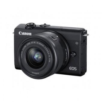 Зображення Цифрова фотокамера Canon EOS M200   15-45 IS STM Black (3699C027)