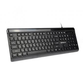 Зображення Клавіатура REAL-EL 7085 Comfort Black