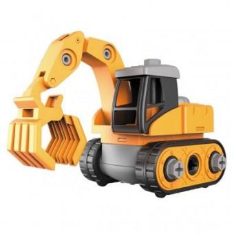 Изображение Конструктор Microlab Toys Конструктор  Строительная техника - Ковш погрузчик (MT8903)