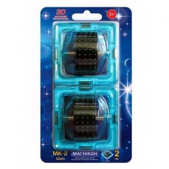 Изображение Конструктор Магнікон Конструктор  Дополнительный набор шасси, 2 шт. (MK-2-К1)