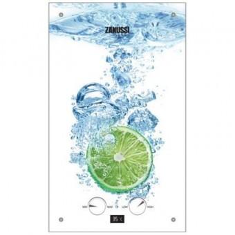 Изображение Водонагреватель Zanussi GWH 10 Fonte Glass Glass Lime