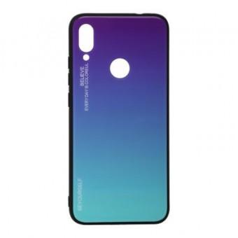 Зображення Чохол для телефона BeCover Gradient Glass Xiaomi Redmi 7 Purple-Blue (703595)