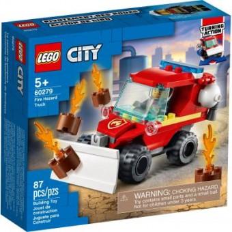 Изображение Конструктор Lego Конструктор  City Fire Пожарный пикап 87 деталей (60279)
