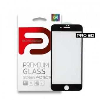 Зображення Захисне скло Armorstandart Pro 3D для Apple iPhone 8/7 Black (ARM55364-GP3D-BK)