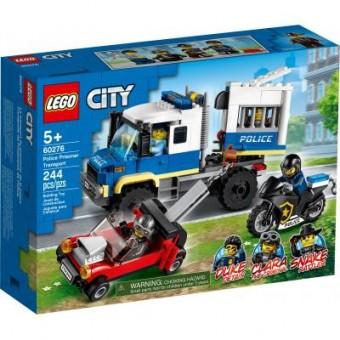 Зображення Конструктор Lego Конструктор  City Police Полицейская машина для перевозки заключенных (60276)