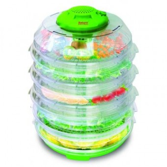 Изображение Сушка для фруктов Saturn Сушка для овощей и фруктов  ST-FP 0113-10 Green (ST-FP0113-10 Green)