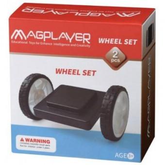 Зображення Конструктор Magplayer Конструктор  Платформа на колесах 2 эл. (MPB-2)