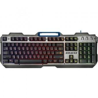 Зображення Клавіатура Defender Assault GK-350L RU USB Grey-Metall (45350)