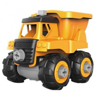 Изображение Конструктор Microlab Toys Конструктор  Строительная техника - грузовик (MT8906А)