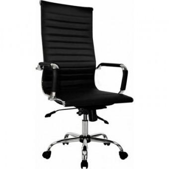 Изображение Офисное кресло ПРИМТЕКС ПЛЮС Elegance Chrome MF D-5 Black (Elegance chrome MF D-5)