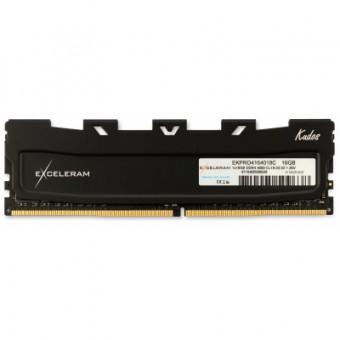Изображение Модуль памяти для компьютера Exceleram DDR4 16GB 4000 MHz Black Kudos PRO  (EKPRO4164018C)