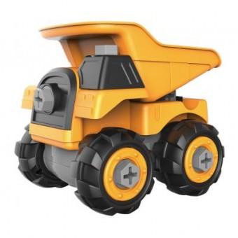 Изображение Конструктор Microlab Toys Конструктор  Строительная техника - карьерный самосвал (MT8907)