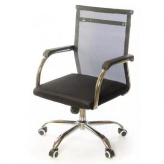 Зображення Офісне крісло АКЛАС Мираж FX CH TILT Черное (12742)