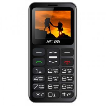 Изображение Мобильный телефон ASTRO A169 Black Gray