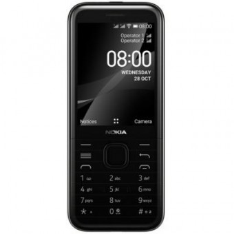 Изображение Смартфон Nokia 8000 DS 4G Black