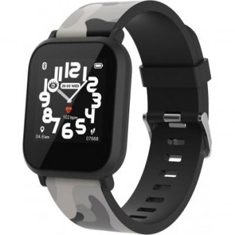 Зображення Smart годинник Canyon CNE-KW33BB Kids smartwatch Black camouflage (CNE-KW33BB)