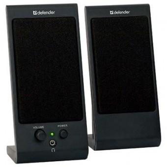 Изображение Акустическая система Defender 2.0 SPK 165 SPK 170 4 W USB black