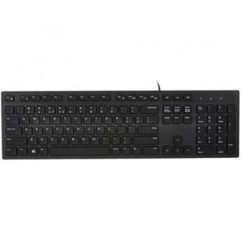 Изображение Клавиатура Dell KB216 Multimedia Black (580-AHHE)