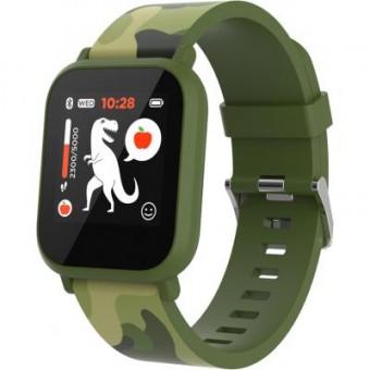 Зображення Smart годинник Canyon CNE-KW33GB Kids smartwatch Green camouflage (CNE-KW33GB)