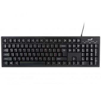Зображення Клавіатура Genius Smart KB-101 USB Black Ukr (31300006410)