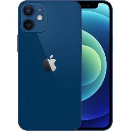 Зображення Смартфон Apple iPhone 12 mini 64Gb Blue (MGE13FS/A | MGE13RM/A) - зображення 2