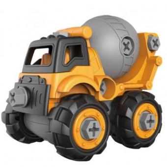 Изображение Конструктор Microlab Toys Конструктор  Строительная техника - бетономешалка (MT8908)