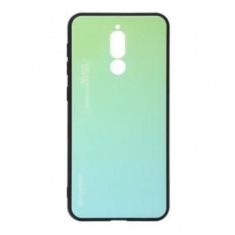 Изображение Чехол для телефона BeCover Gradient Glass для Xiaomi Redmi 8 Green-Blue (704435)