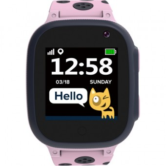 Зображення Smart годинник Canyon CNE-KW34PP Kids smartwatch Sandy, Pink (CNE-KW34PP)