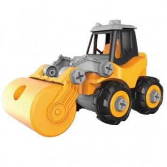 Изображение Конструктор Microlab Toys Конструктор  Строительная техника - дорожный каток (MT8909)