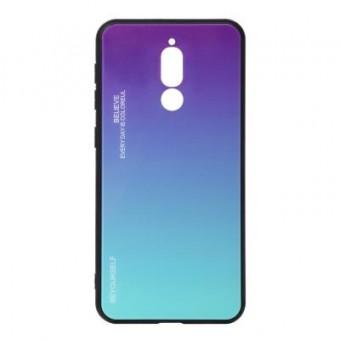 Изображение Чехол для телефона BeCover Gradient Glass для Xiaomi Redmi 8 Purple-Blue (704437)