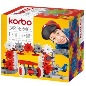 Зображення Конструктор Korbo Конструктор  Car service 119 деталей (65910)