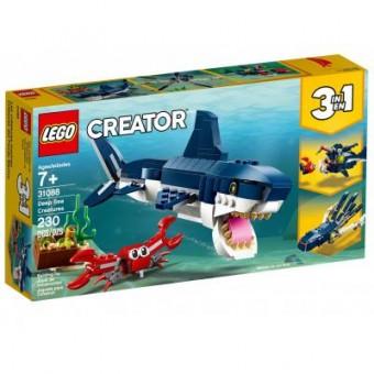 Зображення Конструктор Lego Конструктор  Creator Обитатели морских глубин 230 деталей (31088)