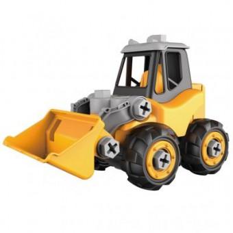 Изображение Конструктор Microlab Toys Конструктор  Строительная техника - трактор (MT8910А)