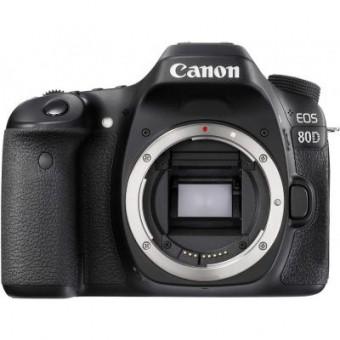 Изображение Цифровая фотокамера Canon Цифровой фотоаппарат  EOS 80D Body (1263C031)
