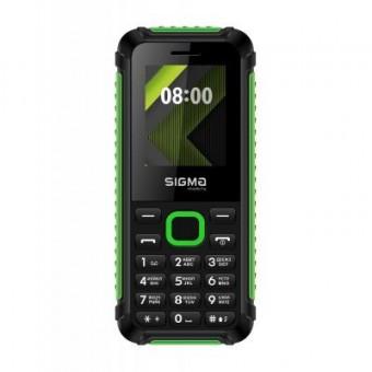 Зображення Мобільний телефон Sigma X-style 18 Track Black-Green